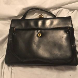 ONE OF A KIND vintage black KORET handbag